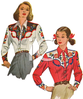 Western_Clothes_for_Women_clipart_image